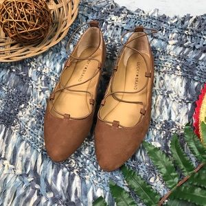 Lucky Brand Brown Flats Size 6.5 NWOT